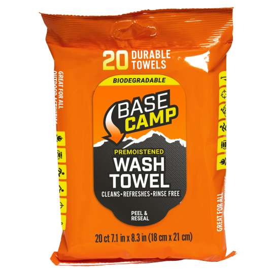 Dead Down Wind™ Base Camp Biodegradable Wash Towel