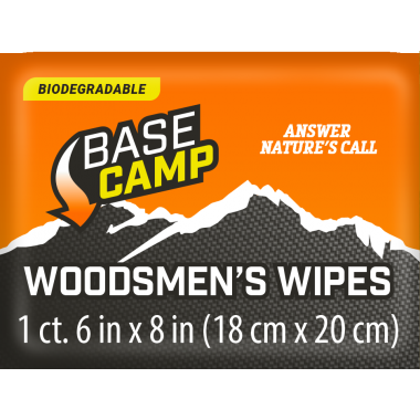 Dead Down Wind™ Base Camp Biodegradable Woodsmen's Wipes