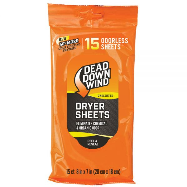 2 Pack - 30 Sheets Dead Down Wind Dryer Sheets