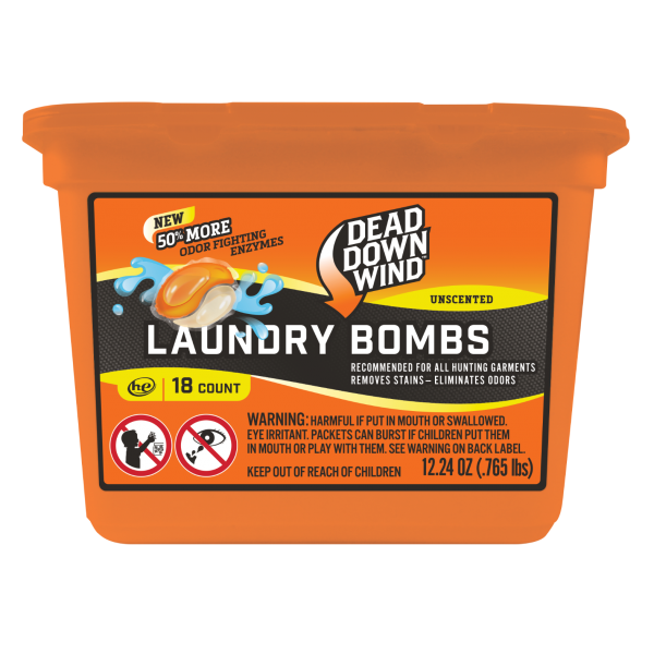 Dead Down Wind Laundry Bomb Pods | 18 Count / 28 Count | 118018 / 118218