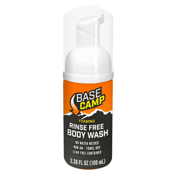 Dead Down Wind™ Base Camp Foaming Rinse Free Body Wash