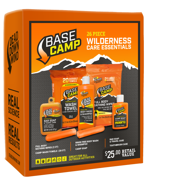 Dead Down Wind Base Camp Wilderness Care Essentials Kit