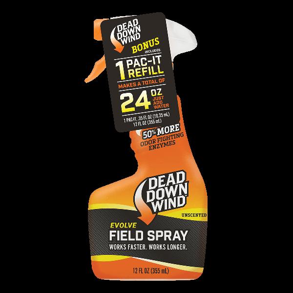 Dead Down Wind Field Spray | Natural Woods | 12 oz. / 24 oz. / 32 oz. | 1391218 / 1392418 / 1393218