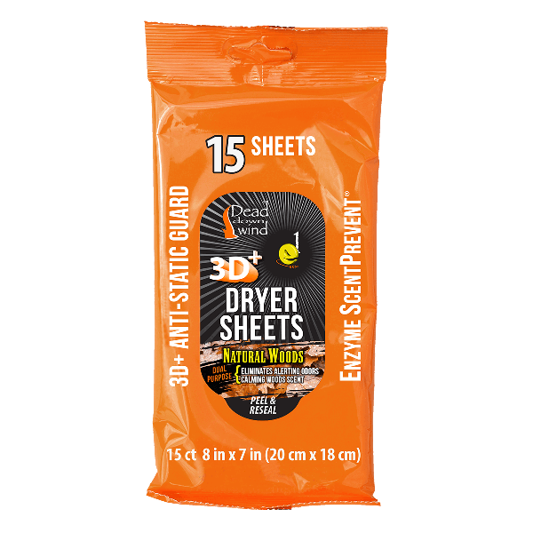 Dryer Sheets - 15 Count Natural Woods