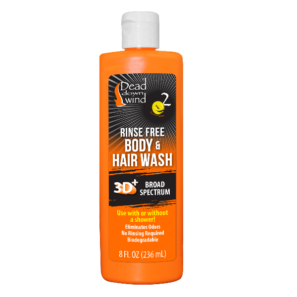 Rinse Free Body & Hair Wash - 8 oz.